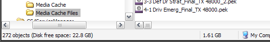 Not in the working folder, not in Temp, but ANOTHER folder.